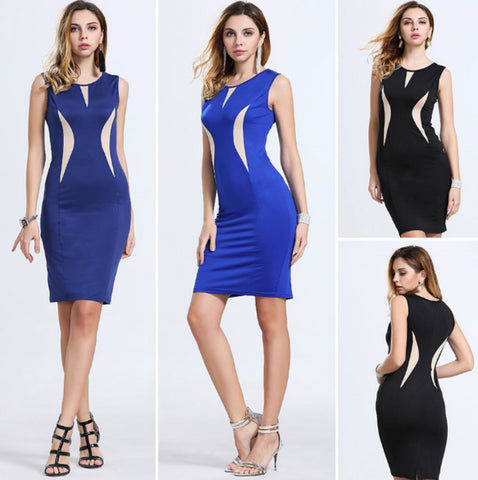 Elegant Pinup Casual Cocktail Dress