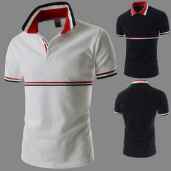 Mens Edgy Line Polo