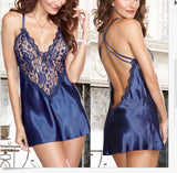 Edgy Lace Lovely Babydoll Dress Lingerie