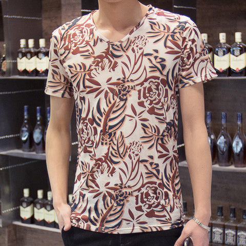 Mens Fashionable Grapic Tee