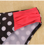 Lovely Retro Polka Dot Swimsuit Bikini