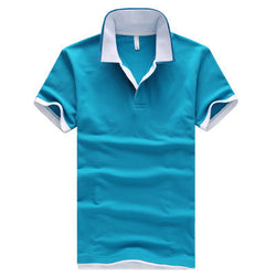 Mens Flashy Outline Polo