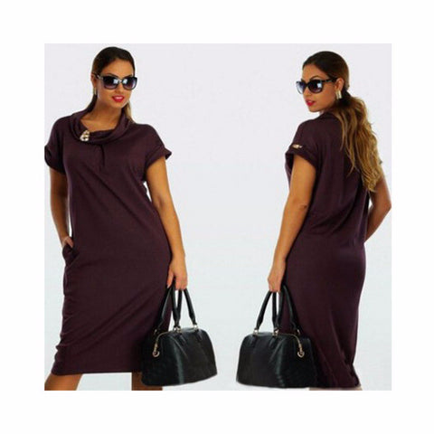 Cool Casual Loose Plus Size Trendy Dress