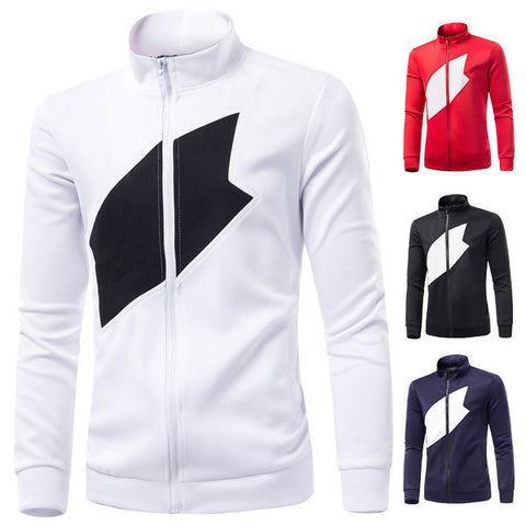 Mens Cool Zip-Up Sweater