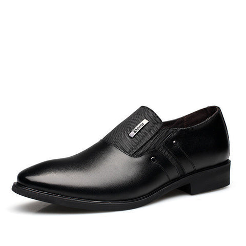 Mens Cool Pointed Toe Dress Shoes