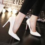 Classic Pointed Toe Stiletto High Heels