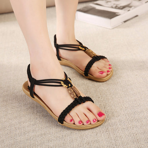 Lovely Knit Ankle Stylish Sandals