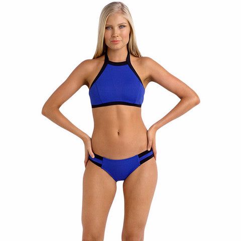 Cool Casual Halter Tank Swimsuit Bikini