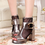 Womens Trendy Posh High Heel Platforms