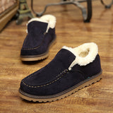 Mens Comfortable Casual Cotton Lined Shoes