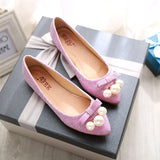Womens Cute Beautiful Low Flats