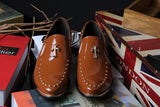 Mens Urban Riveted Casual Boot Loafers