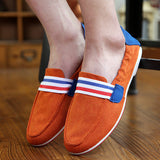 Mens Stretchable Slip-On Loafers Casual Shoes
