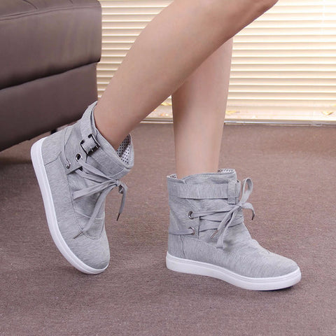 Trendy High Top Casual City Sneakers