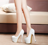 Womens Sleek Sexy Platform High Heels