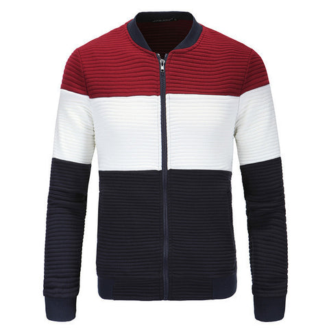 Mens Stylish Zip-Up Sweater