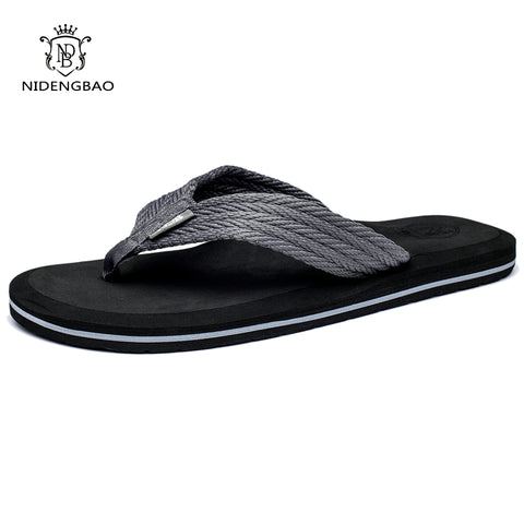 Mens Summer Flip Flops High Quality Comfortable Beach Sandals Shoes Slippers