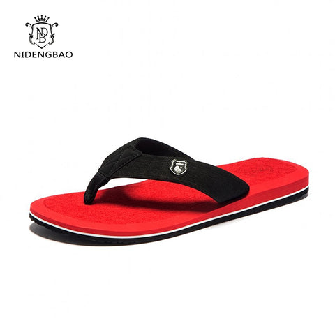 Mens Beach Flip Flops Slippers Shoes Comfortable Men's Sandals Casual Summer