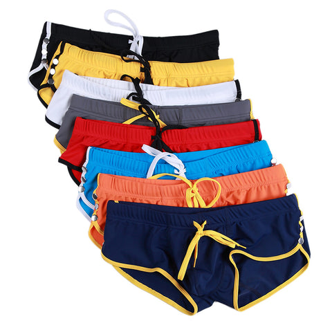 Mens Swimming Trunks Swimsuits Surf Board Beach Wear Swimming Boxer Shorts