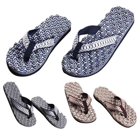 Mens Summer Shoes Casual Sandals Slipper Flip-flops