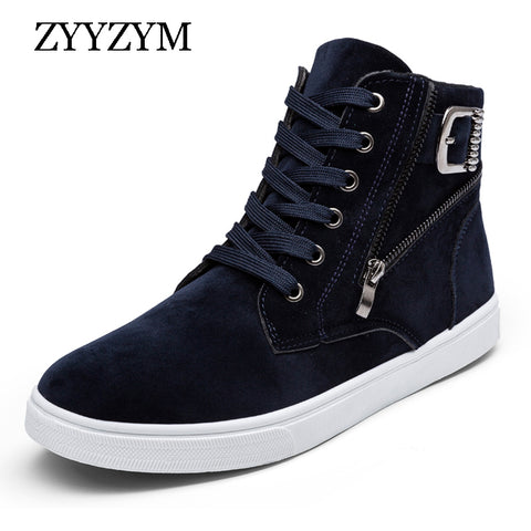 Mens Hot High Top Lace Up Casual Spring Shoes