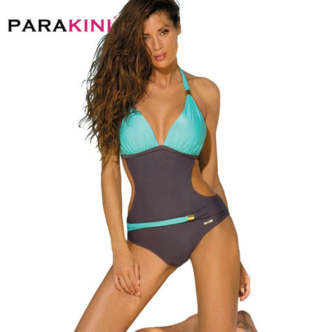 Womens One Piece Swimsuit Swimwear Brazilian Sexy Beachwear Bodysuit Monokini