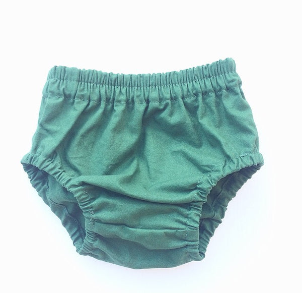 Green Nappy Cover - Size 000, 3