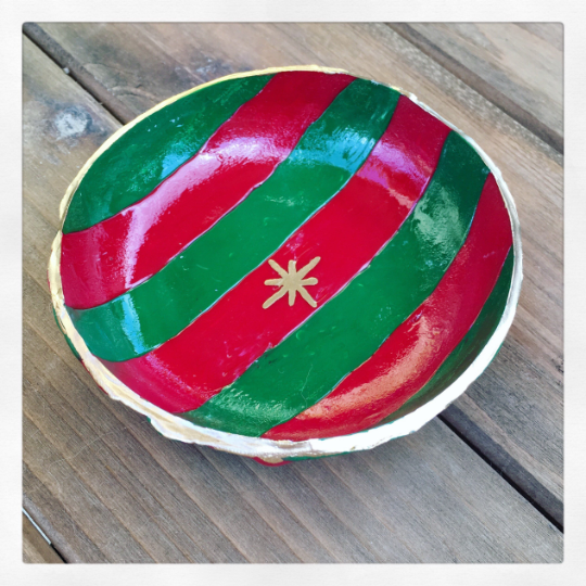 Festive Holiday Ring Bowl