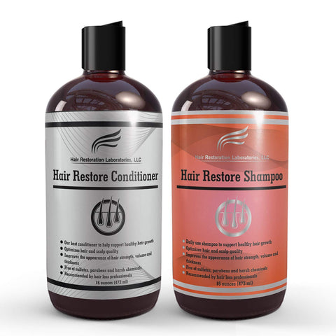 Hair Restore Shampoo and Conditioner Set