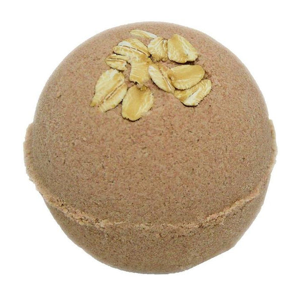 Bath Bombs 5.5 oz Oatmeal Milk & Honey w Hemp Seed Oil