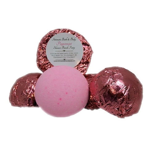 Shower Bomb Fizzies - 5 Pack Aromatherapy Shower Steamers - Peppermint