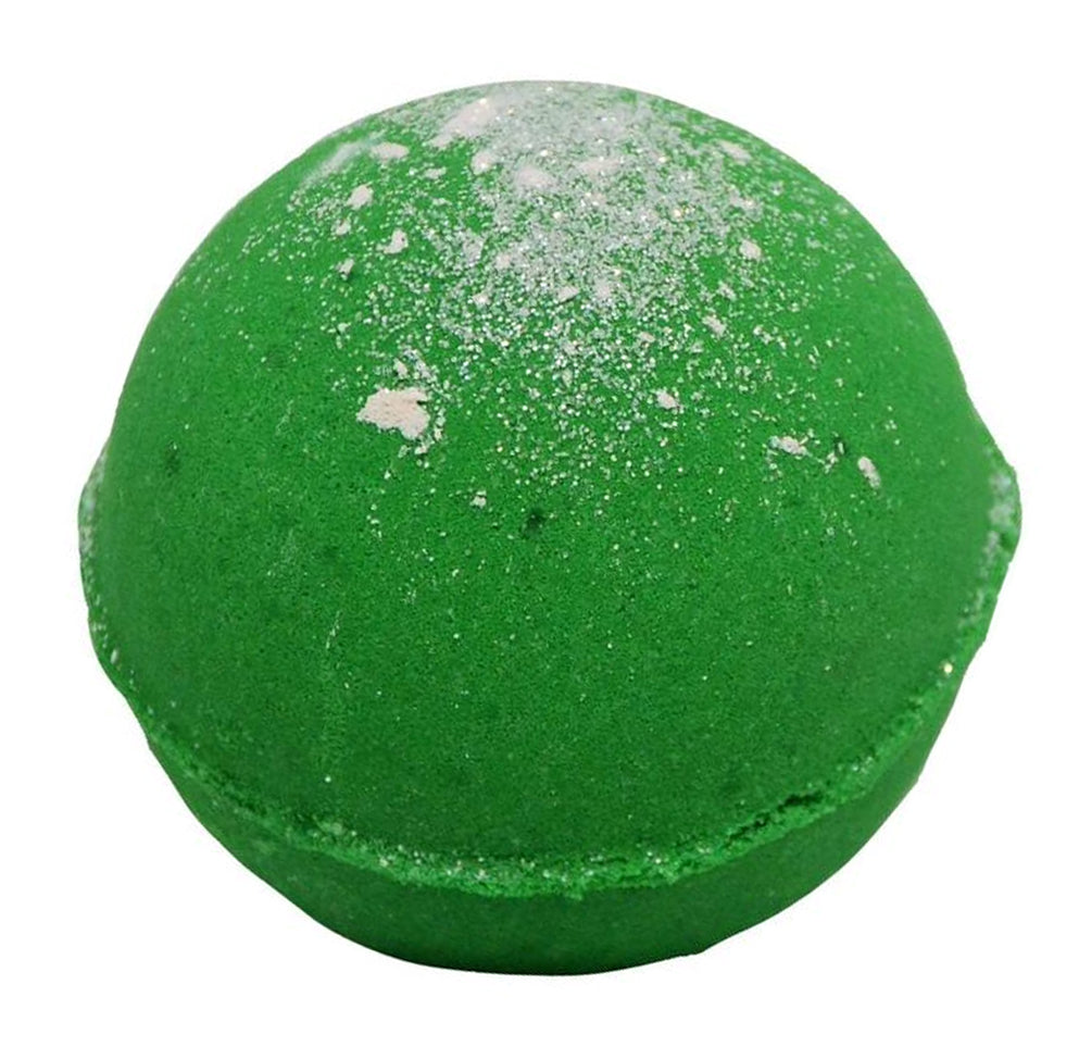 Bath Bomb 5.5 oz Tinsel the Tree! w/ Kaolin Clay & Coconut Oil