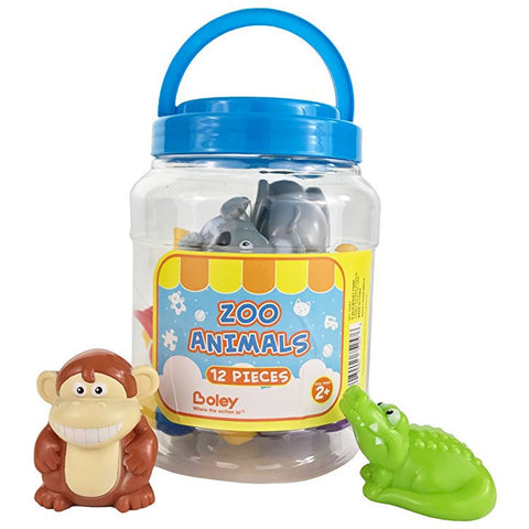 Boley12 pc Zoo Animal Bucket