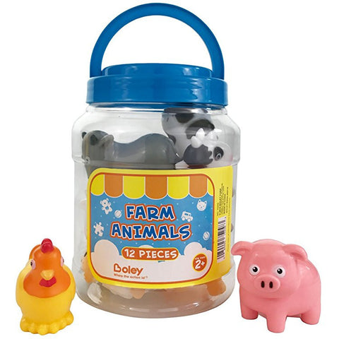 Boley 12 pc Farm Animal Bucket