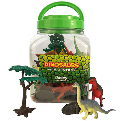 40 pc Dinosaur Bucket