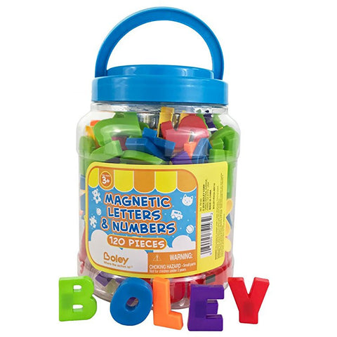 Boley Bucket of Letters and Numbers