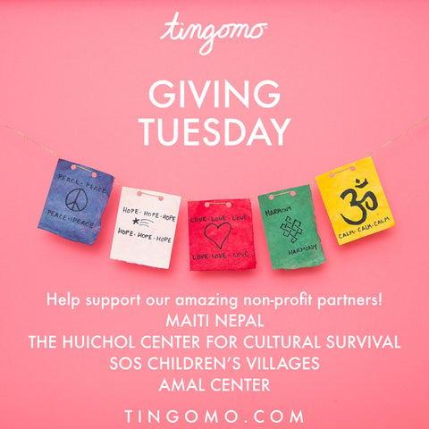 Tingomo Passport Craft Kits // Giving Tuesday // Support our Non-Profit Partners