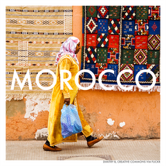 Tingomo Passport Craft Kits // Morocco