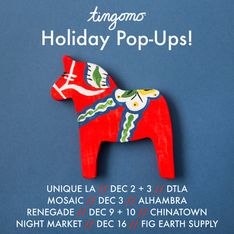 Tingomo Passport Craft Kits holiday pop-up markets shopping gifts