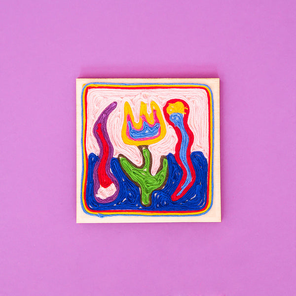 DIY Mexico Huichol String Art. Tingomo Passport Craft Kits, www.tingomo.com