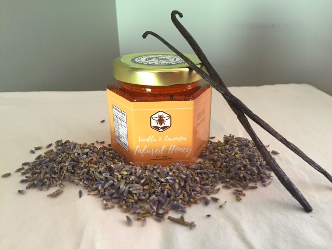 Lavender and Vanilla Infused Honey