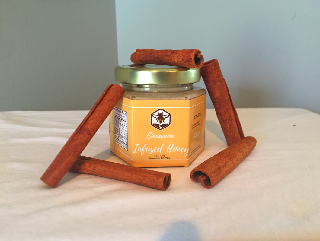 Cinnamon Infused Honey