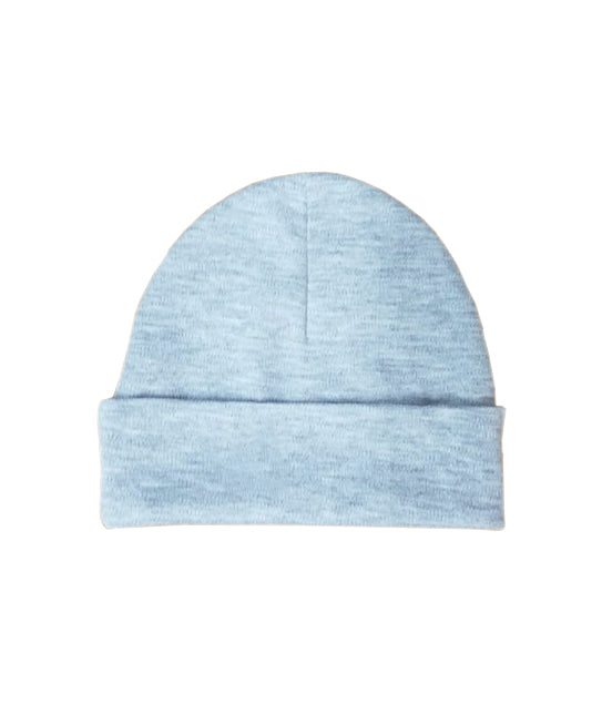4201H | Baby Beanie Hat - Heather Grey