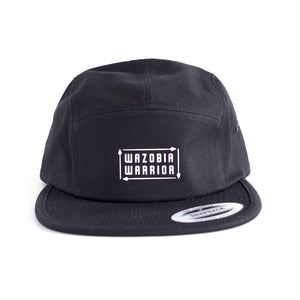 THE CROWN Original black 5-panel hat