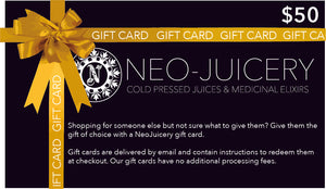 COLD PRESSED JUICES - NeoJuicery