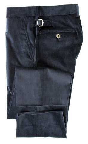 Equipage - Navy Velour Pants