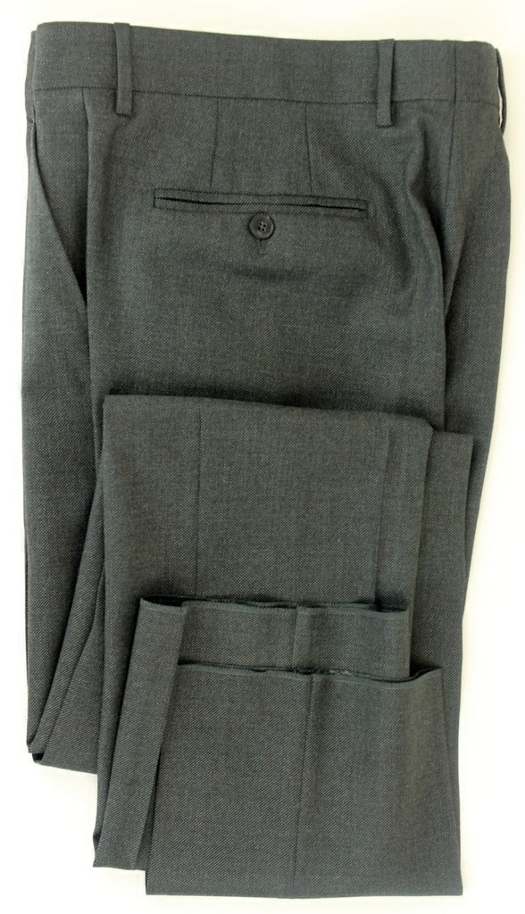 TSE - Dark Gray Birseye Heavy Wool Pants - PEURIST