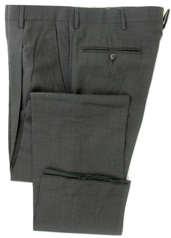 Equipage - Gray Lightweight Wool Pants - PEURIST