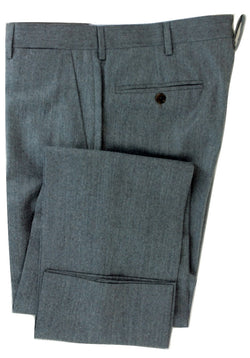 Equipage - Light Gray Flannel Wool/Cashmere Pants