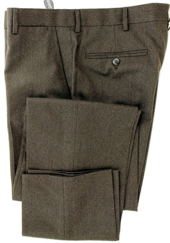 Equipage - Brown Wool Flannel Pants